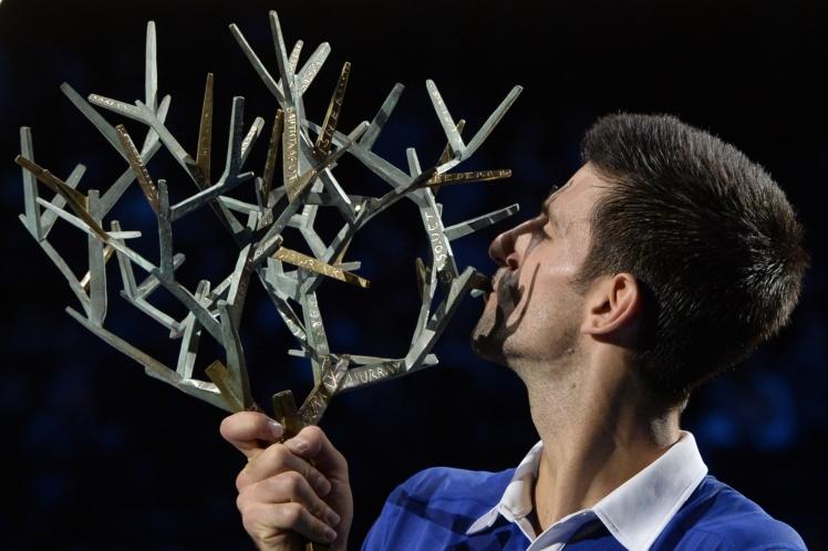Novak Djokovic, maître des lieux à Paris